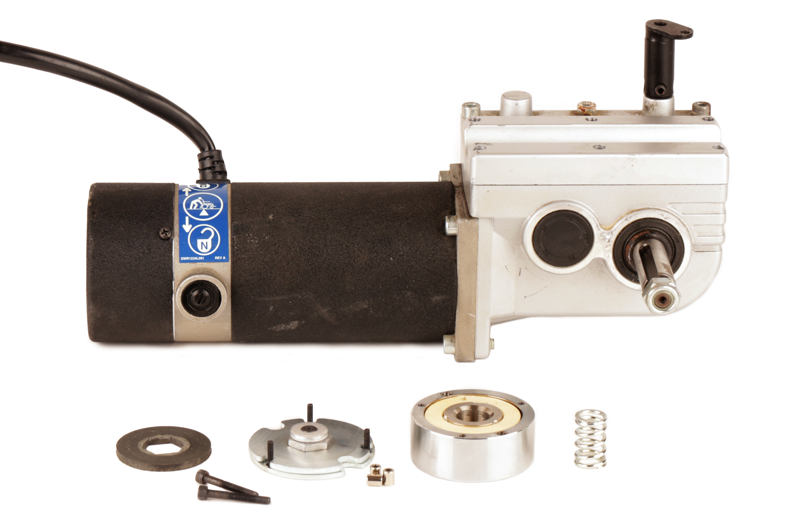 Picture of Remove a Wheelchair Motor Brake