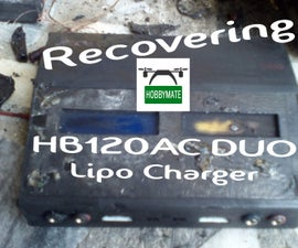 Recovering a Lipo Charger Burned on Fire