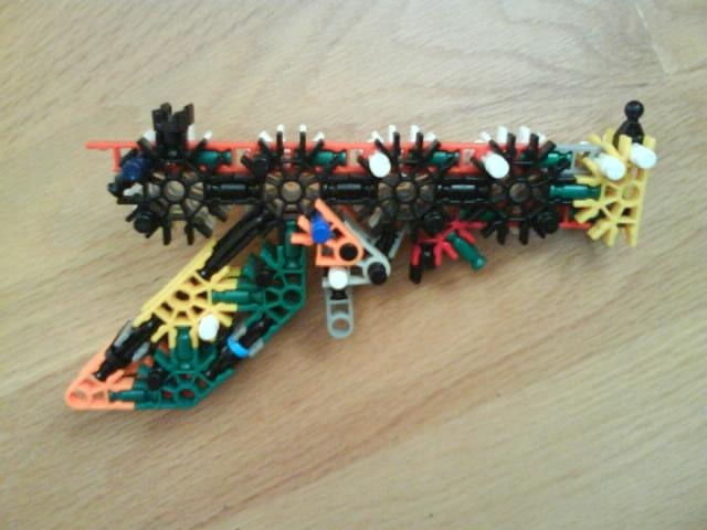 Picture of Zorgenflarg Knex Pistol