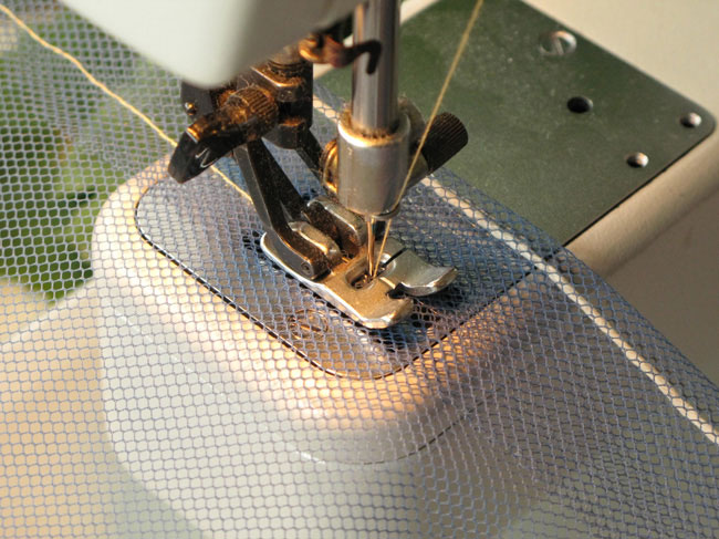 Picture of Sewing in the Draw String