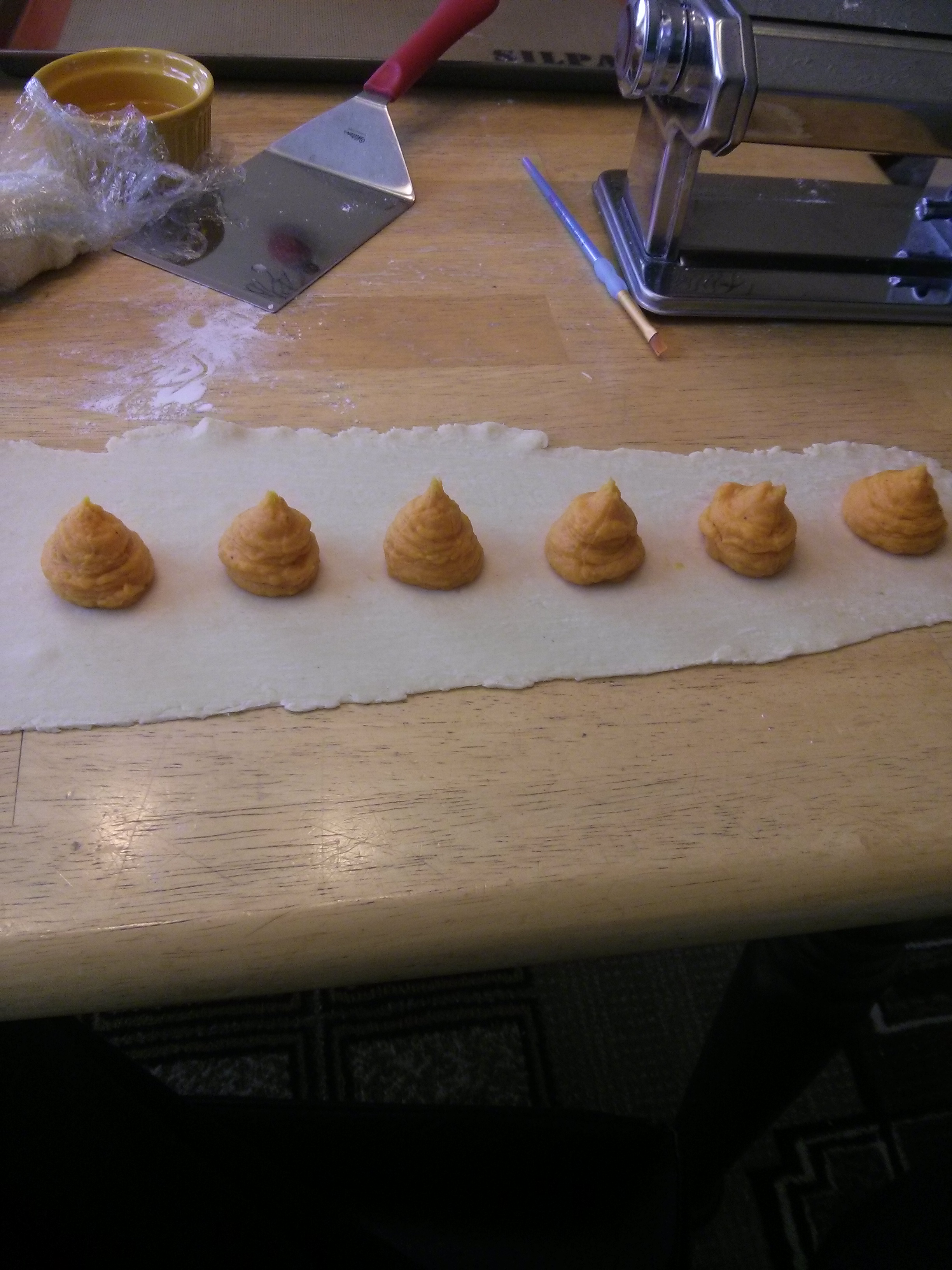 Picture of Filling the Ravioli