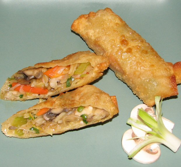 Picture of How to Roll Egg Rolls