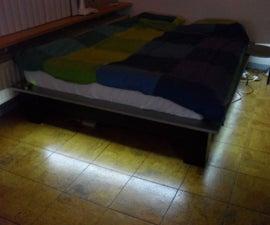 Under the bed nightlight