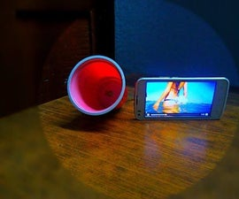 DIY Make a Speaker With a Plastic Glass