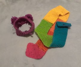 Headbands and Scarves With One Stitch