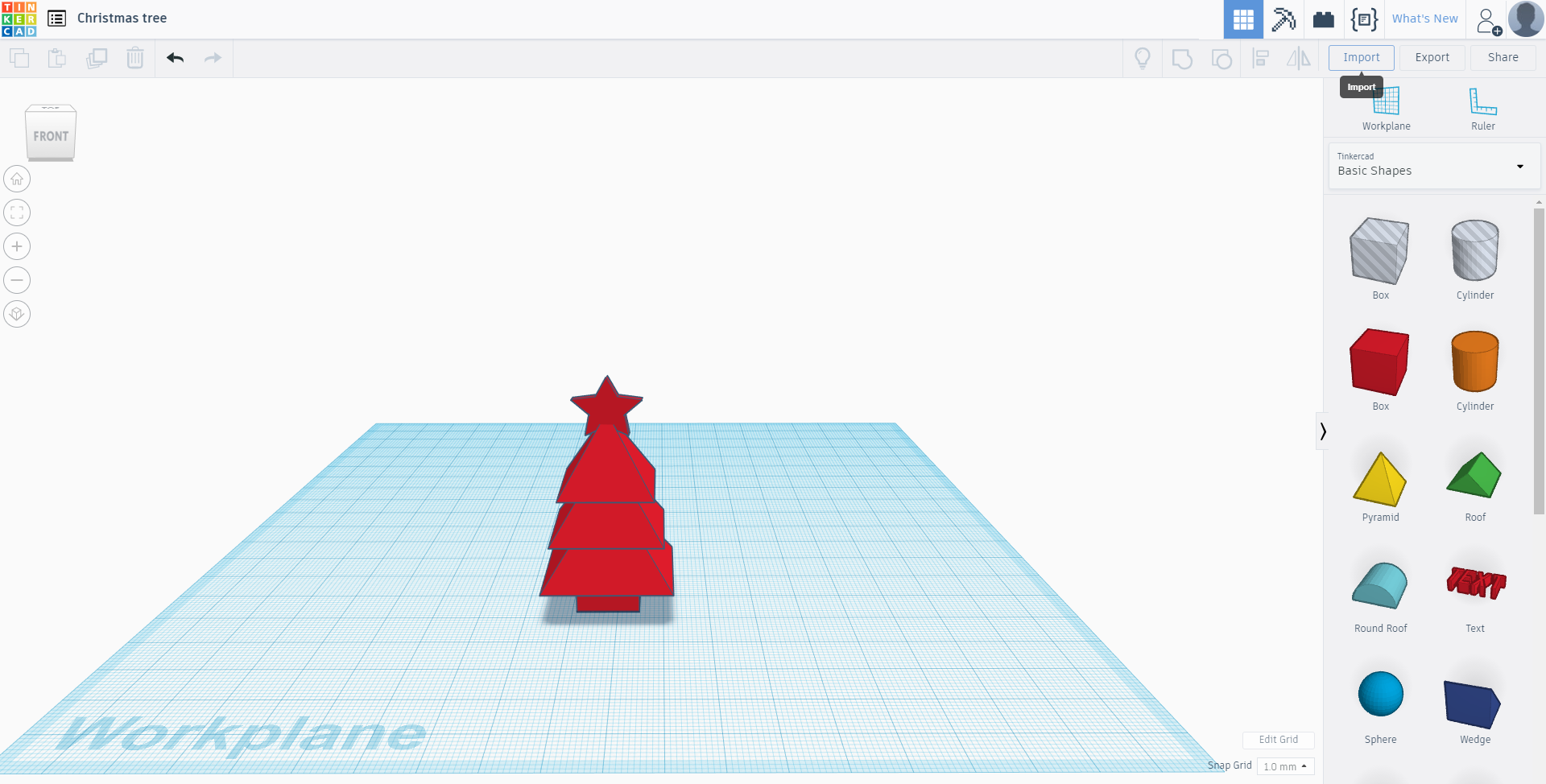 Picture of 3-d Printed Christmas Tree