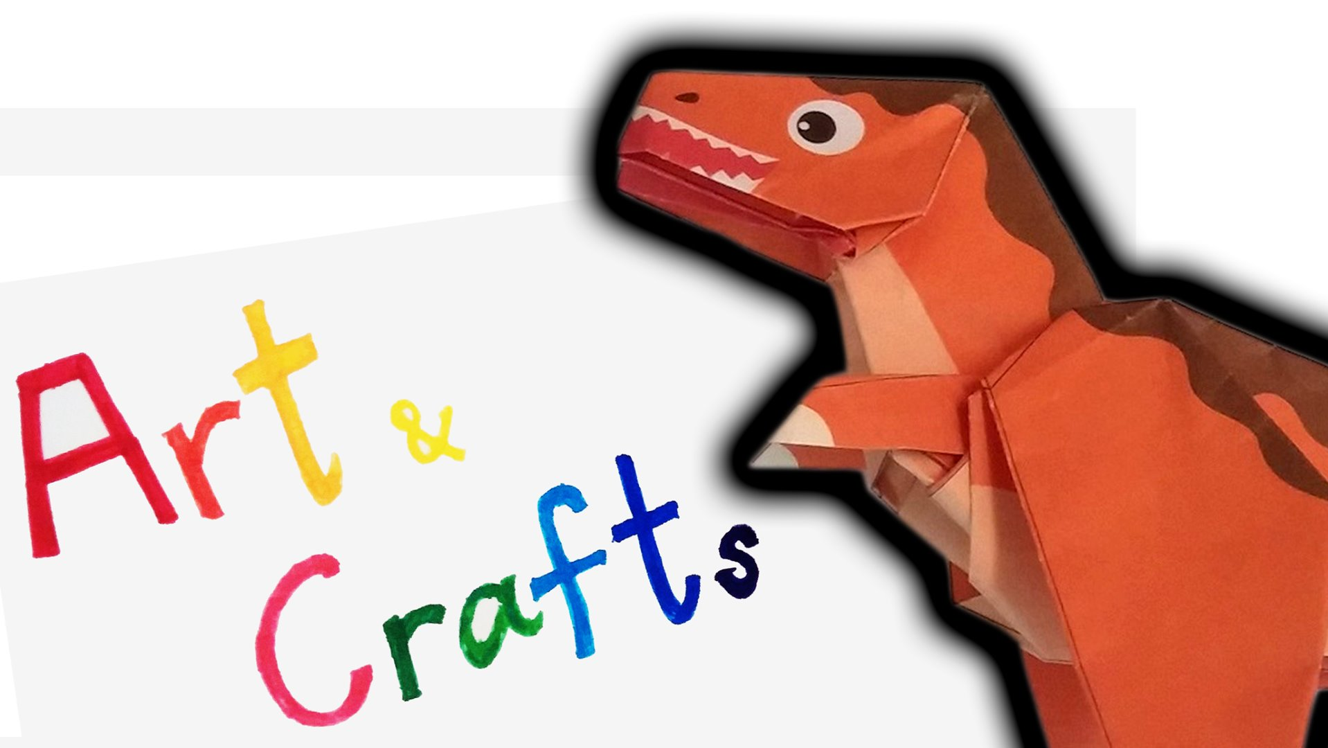 Picture of Show How to Fold Dinosaur Tyrannosaurus Part 1 and 2 ORIGAMI How to Fold Dinosaur Tyrannosaurus Part 1 and 2 Origami