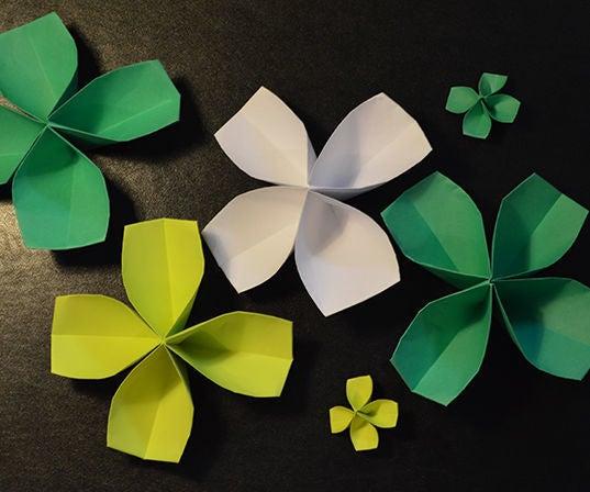 How to Make a Paper Four-Leaf Clover