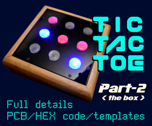 Picture of Tic-Tac-Toe Part-2  ( PIC16F627A )