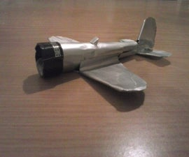 Aeroplane from an Aluminium Can (and it flies too)