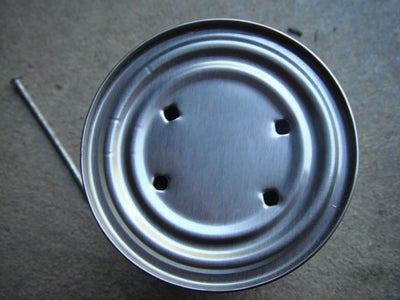 Make the Holes on the Can