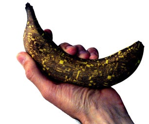 Laser Etched Banana: the Chipest Banana of the Web!