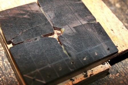 Drill Bead Holes & Cut Strips