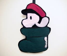 Mario Goomba Shoe Stocking