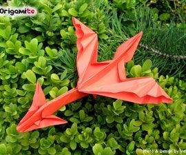 Easy Origami Dragon Tutorial
