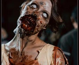Zombie Makeup 2012