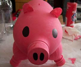 3L Bottle Piggy Bank