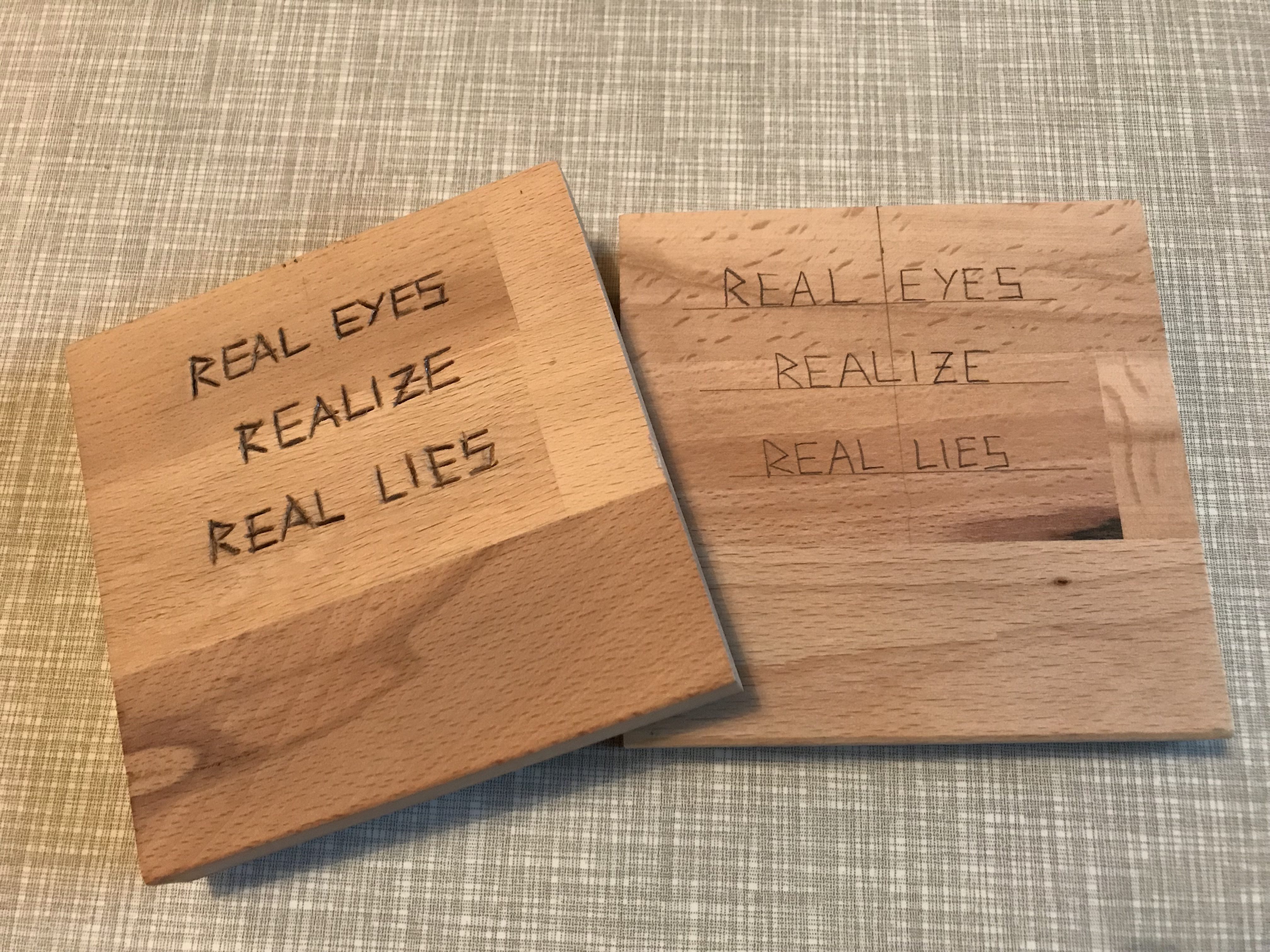 Picture of Engraving a Quote