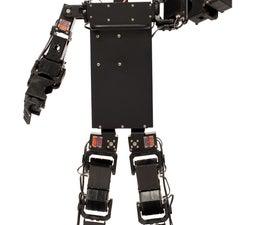 Inexpensive Autonomous Humanoid Robot