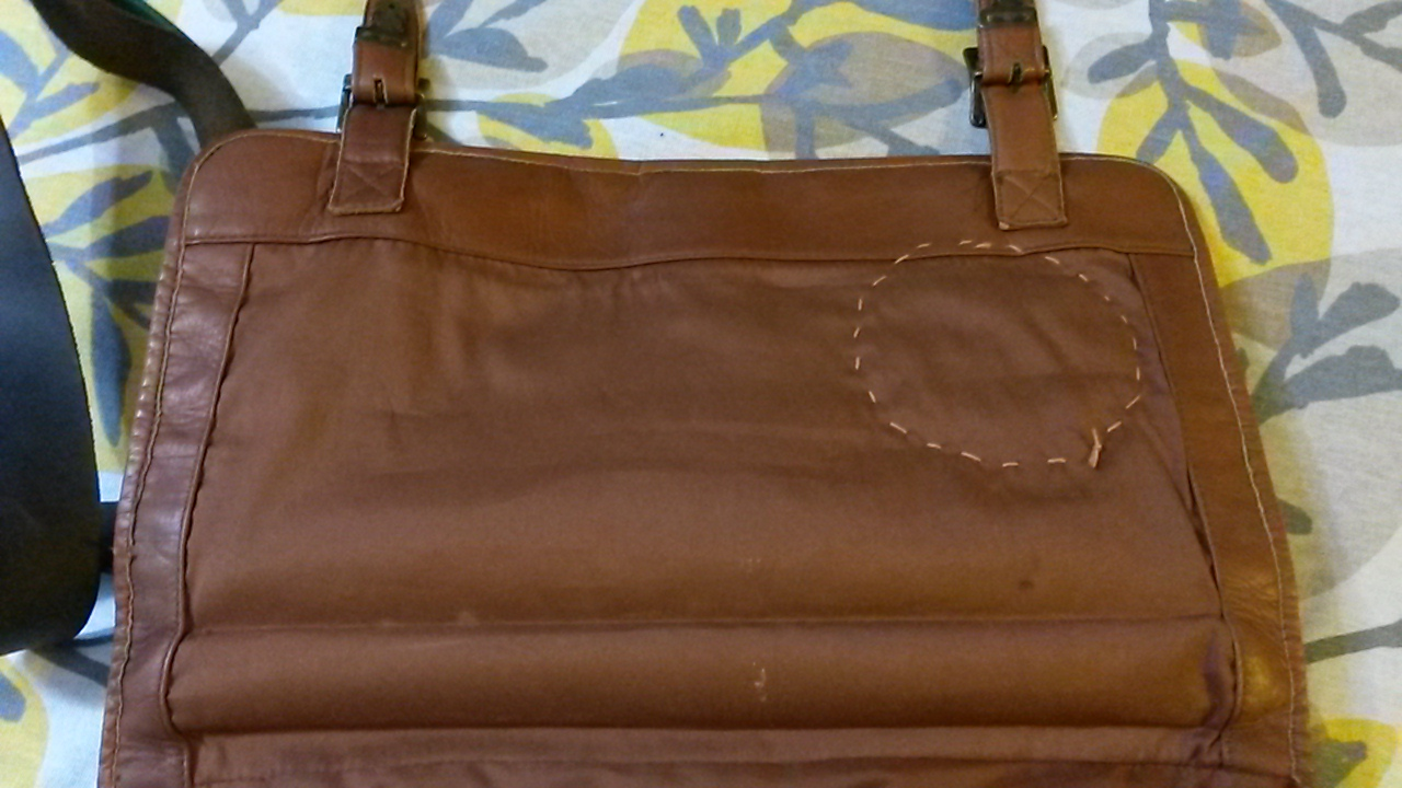 Picture of Sewing to Bag
