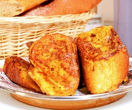 Pain Perdu : French Toast in the French Style.