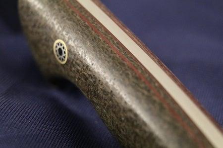 Knife Making: Flax Fiber Micarta