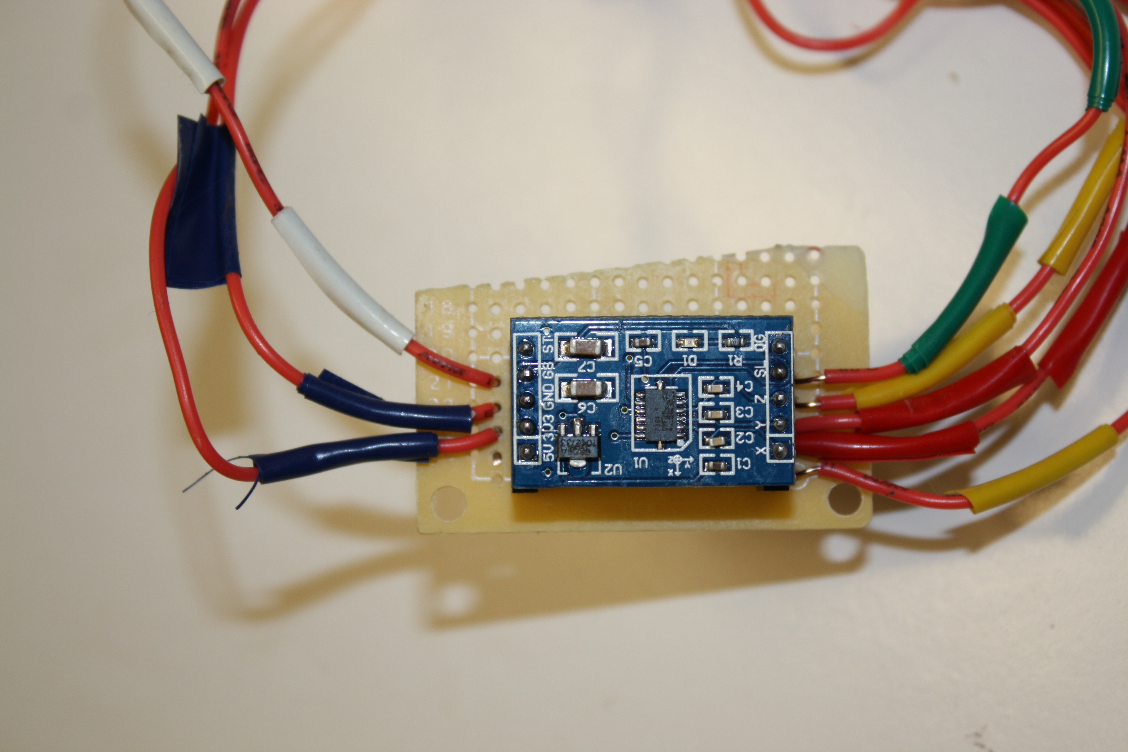 Picture of Assemble Accelerometer and Wires