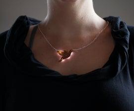Light-Up PCB Necklace