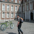 Electric Bicycle with Batteries in the Frame