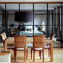Steel and Glass Partition Wall