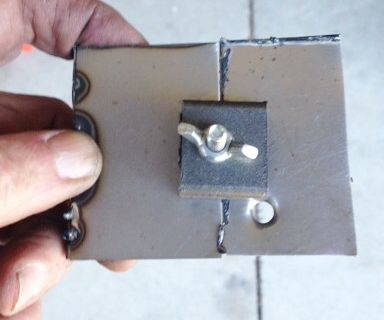 Welding Clamp for Thin Materials