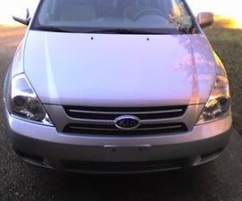Headlight Replacement of a 2007-9 Kia Sedona or Hyundai Entourage