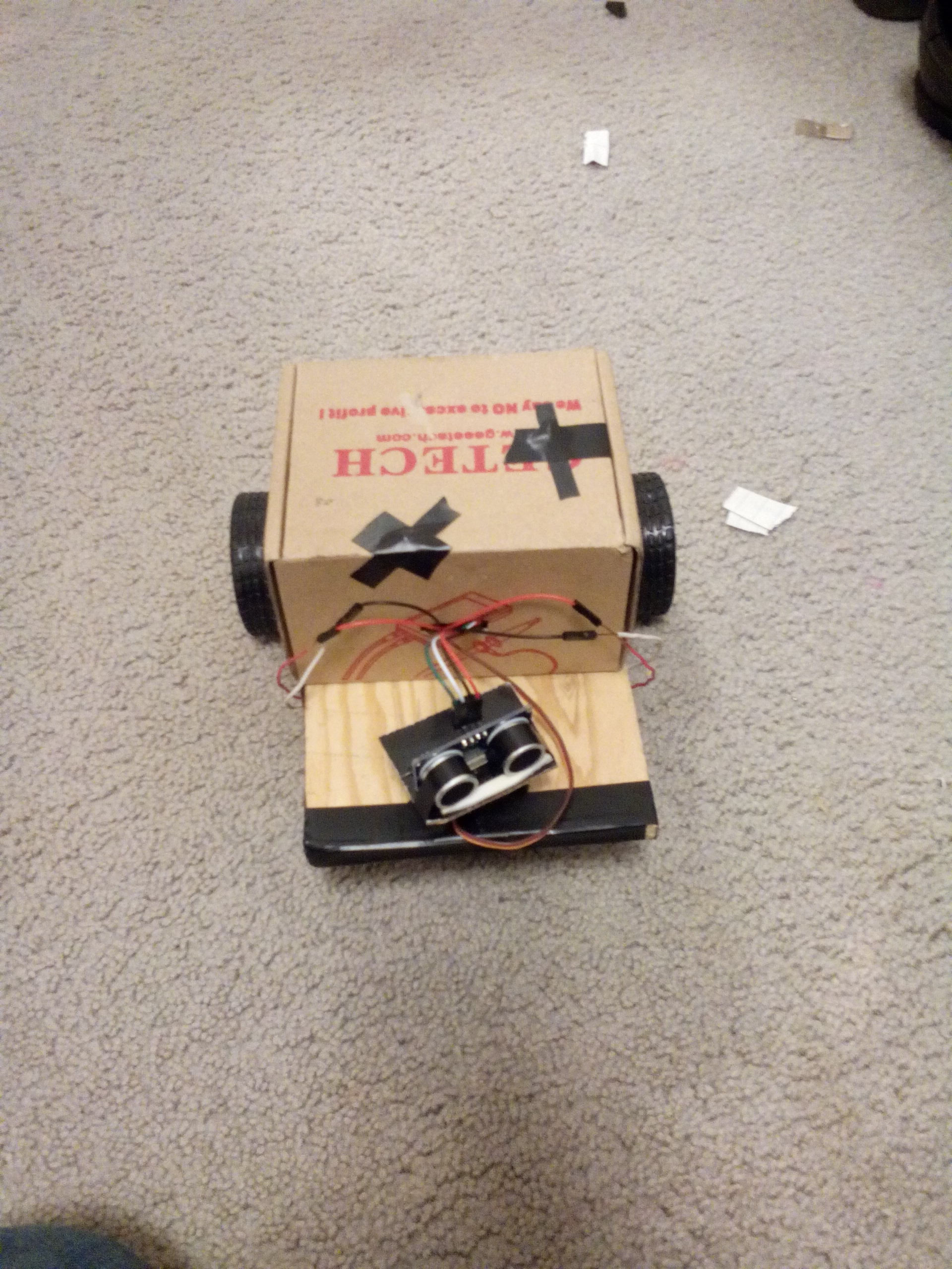 Picture of Arduino Obstacle Avoiding Robot