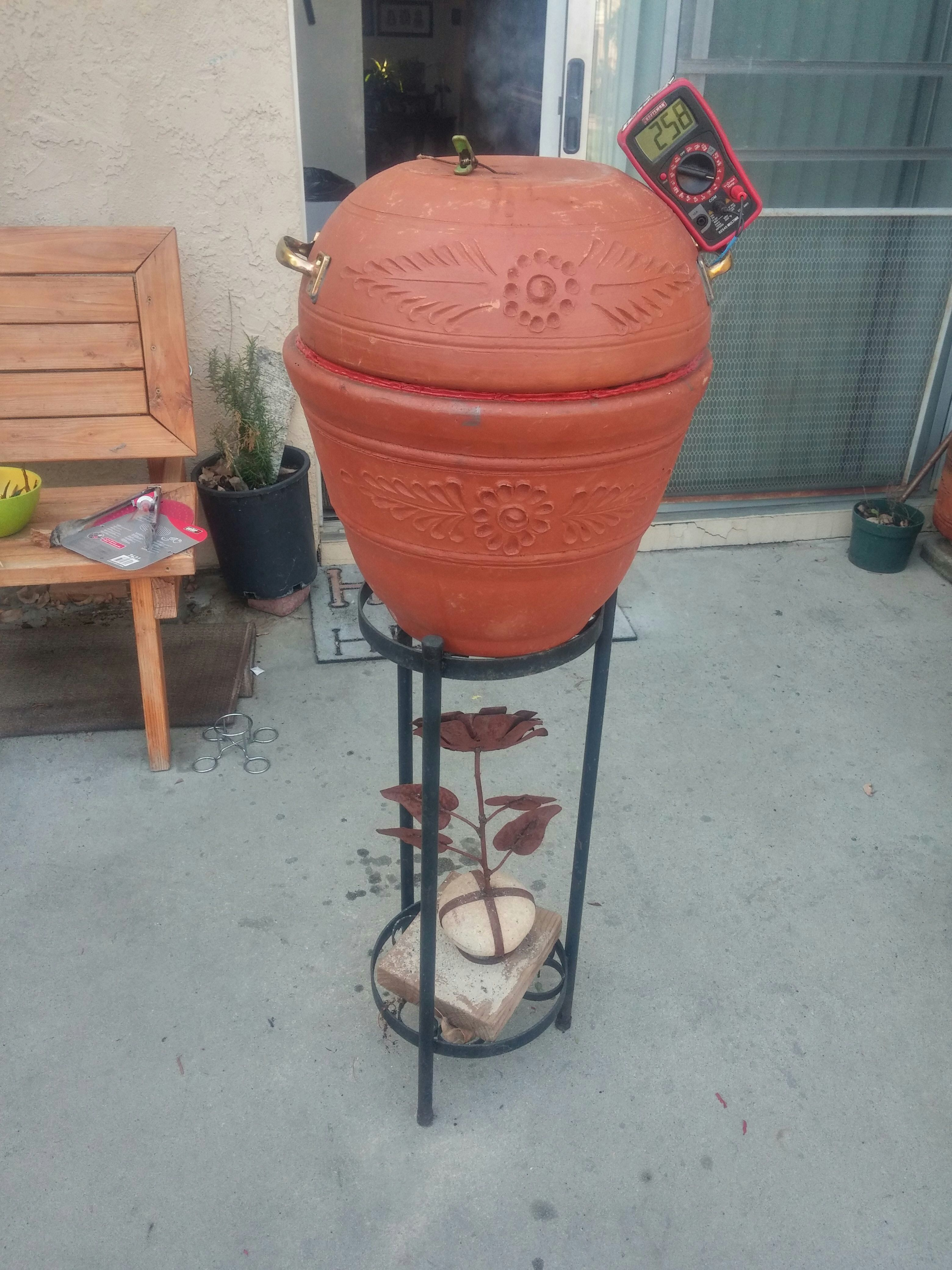 Picture of Flower Pot Smoker