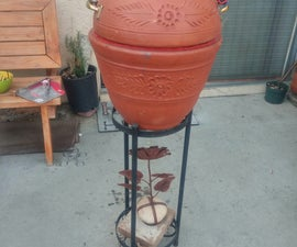Flower Pot Smoker