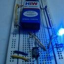 DARK/LIGHT SENSOR BASED ON  the LM741 opamp