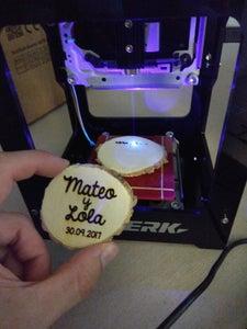 Laser Engraved Wooden Magnets