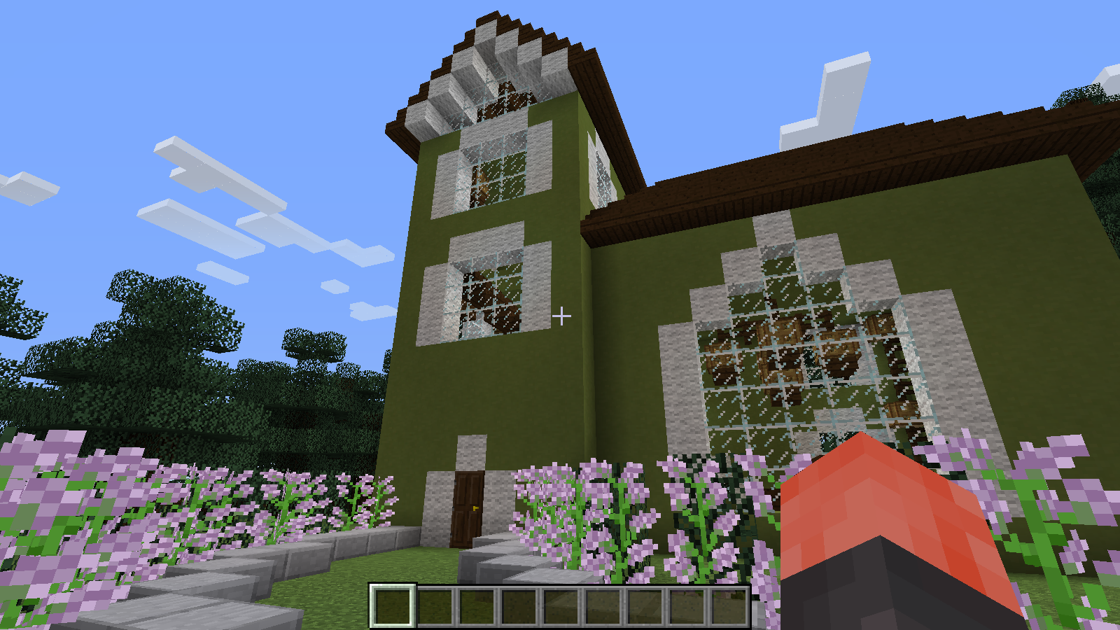 Picture of Minecraft Mansion