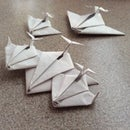 Origami Paper Jet/Spaceship [ Looks Great on Display ]