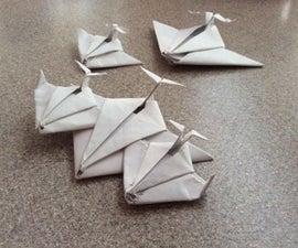 Origami Paper Jet/Spaceship [ Looks Great on Display ]