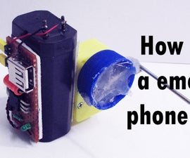 Emergency Phone Charger