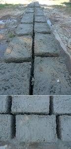 Making Papercrete Blocks
