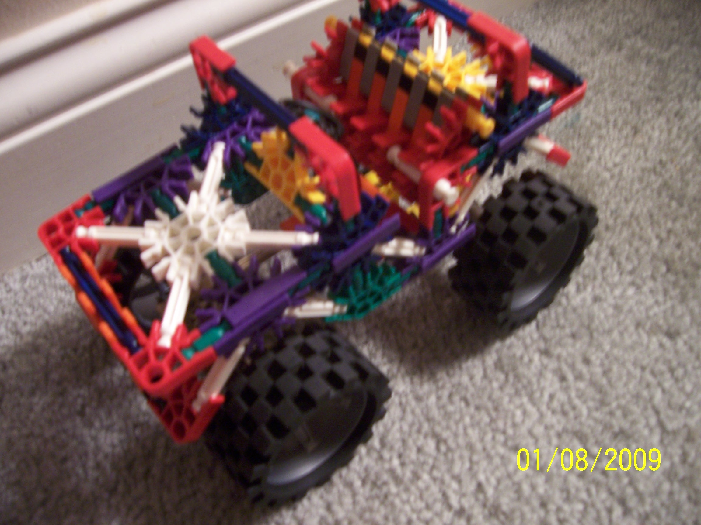 Picture of Knex Monster Jeep