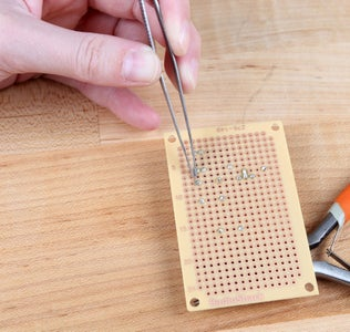 Create the +5V and GND Rails