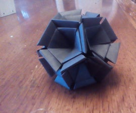 90 Module Origami Dodecahedron