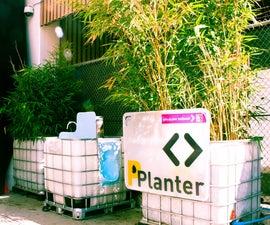 PPlanter urinal, sink, + planter!