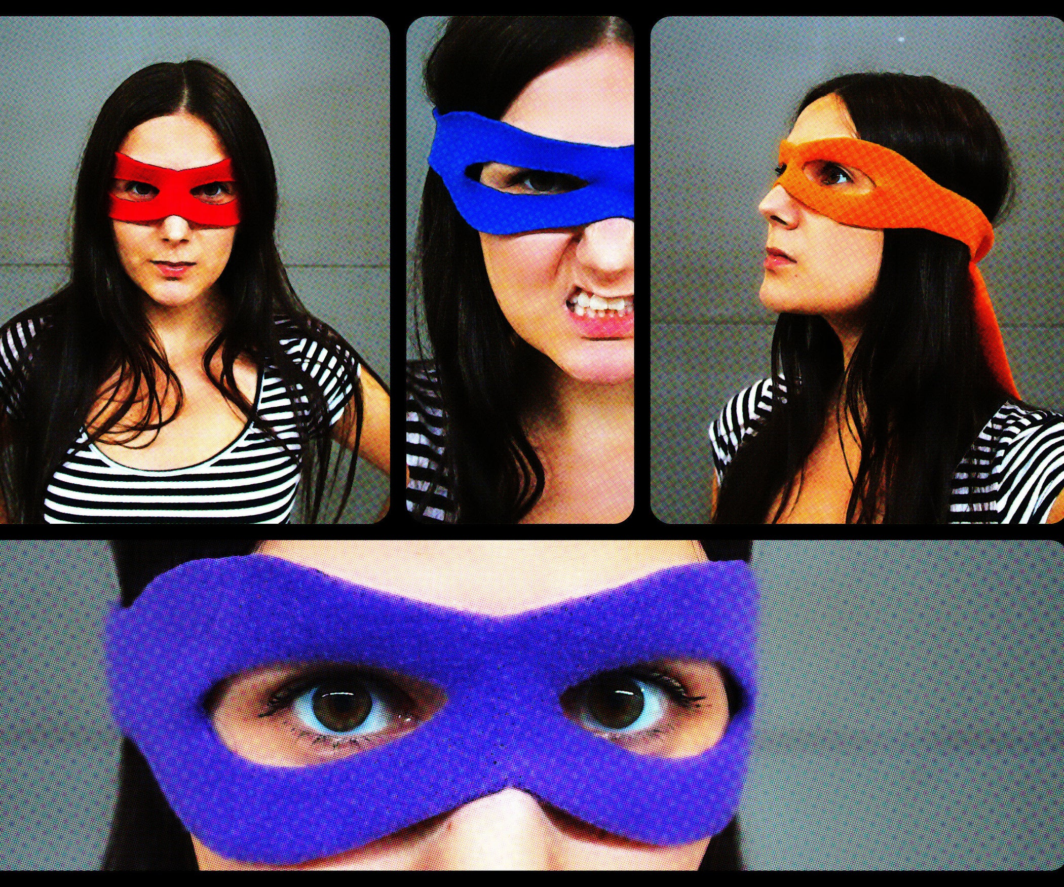Superhero Mask Tutorial Pattern 4 Steps With Pictures