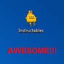 Windows 7 Tip - Change a folder's icon & have the Instructables Robot as your icon for your Instructables Folder!