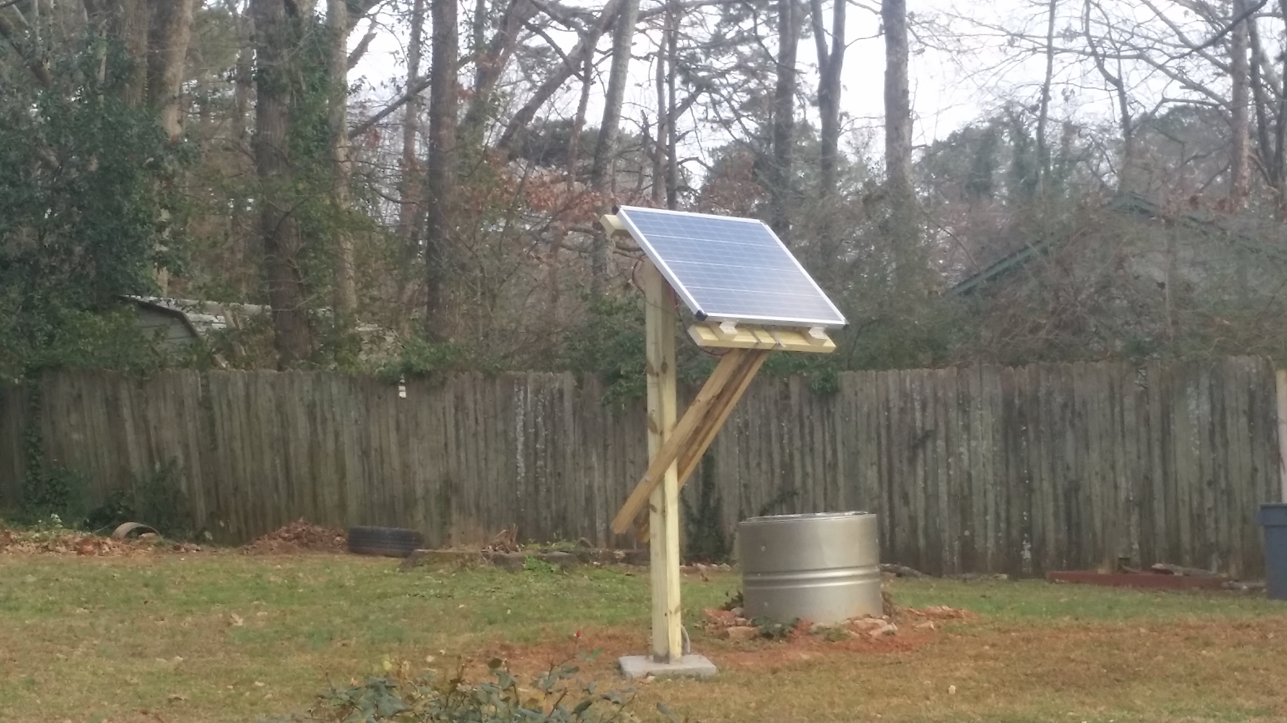 Picture of Adjustable Solar Panel Mount