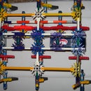 how to build a knex walker